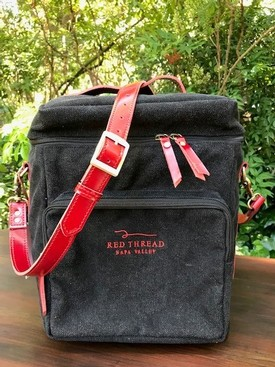 Red Thread Wine 6 Bottle Custom Bag